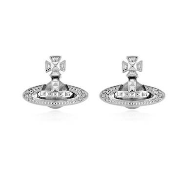 Vivienne Westwood Pina Crystal Stud Earrings  - Click to view larger image