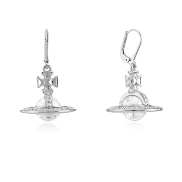 Vivienne Westwood Pina Crystal Drop Earrings   - Click to view larger image