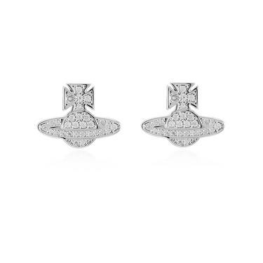 Vivienne Westwood Romina Crystal Earrings   - Click to view larger image