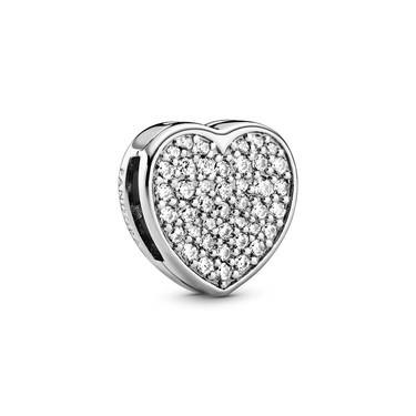 Pandora Reflexions Heart Clip Charm   - Click to view larger image