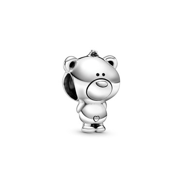Pandora Theo Bear Charm  - Click to view larger image