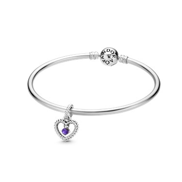 Pandora February Birthstone Gift Set  - Click to view larger image