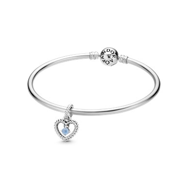 Pandora March Birthstone Gift Set  - Click to view larger image