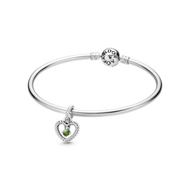 Pandora August Birthstone Gift Set  - Click to view larger image