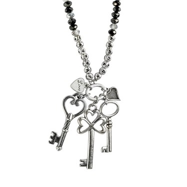 Karma Key To My Heart Necklace