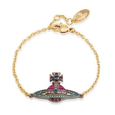 Vivienne Westwood Kika Multicoloured Bracelet   - Click to view larger image