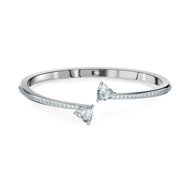 Swarovski Attract Soul Heart Bangle  - Click to view larger image