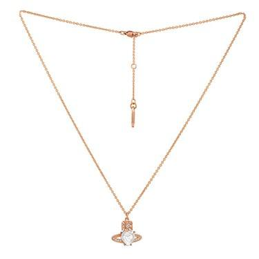 Vivienne Westwood Rose Gold Ariella Necklace   - Click to view larger image
