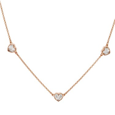 Kate Spade New York Romantic Heart Short Scatter Necklace  - Click to view larger image