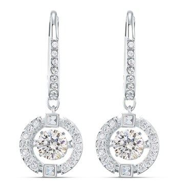Swarovski Sparkling Dance Drop Earrings   - Click to view larger image