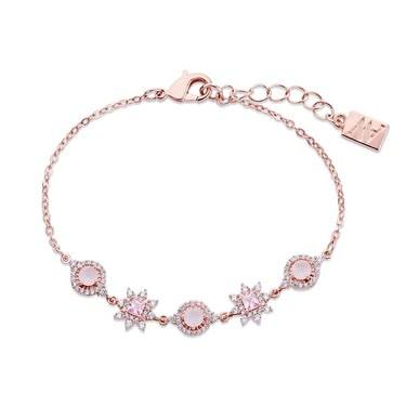 August Woods Rose Gold Dainty Blush Bracelet   - Click to view larger image