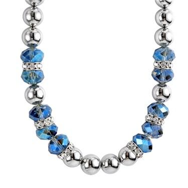 Karma Montana Blue Crystal Necklace