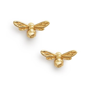 Olivia Burton Lucky Bee Gold Earrings  - Click to view larger image