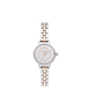 Olivia Burton Wonderland Mixed Metal Bracelet Watch  - Click to view larger image