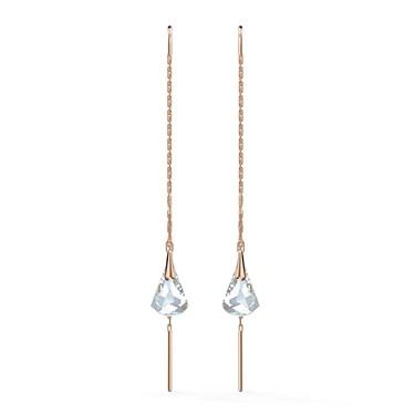 Swarovski Spirit Rose Gold Drop Earrings   - Click to view larger image