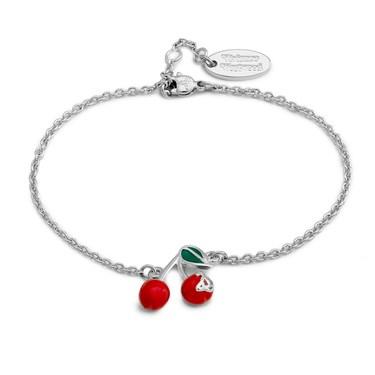 Vivienne Westwood Misty Cherry Bracelet  - Click to view larger image