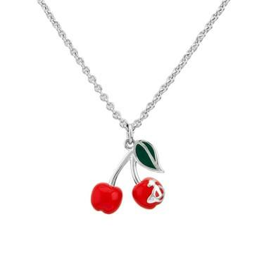 Vivienne Westwood Misty Cherry Necklace  - Click to view larger image
