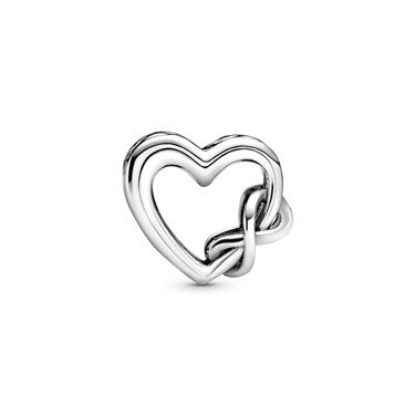 Pandora Love You Mum Infinity Heart Charm  - Click to view larger image