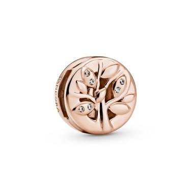 Pandora Reflexions Rose Family Tree Charm  - Click to view larger image