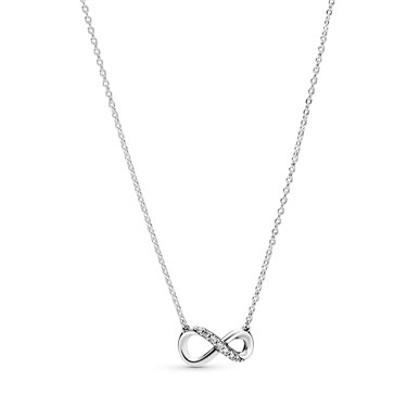 Pandora Sparkling Infinity Collier Necklace  - Click to view larger image