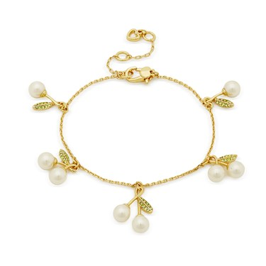 Kate Spade New York Cherie Cherry Bracelet   - Click to view larger image