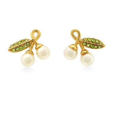 Kate Spade New York Cherie Cherry Earrings  - Click to view larger image