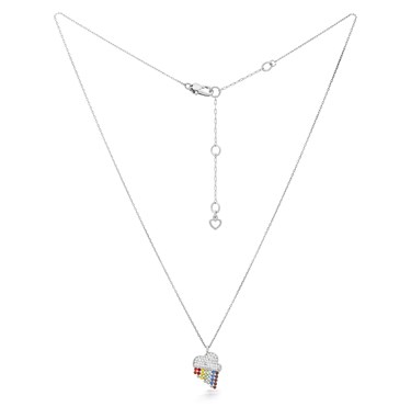 Kate Spade New York Rainbow Cloud Necklace  - Click to view larger image