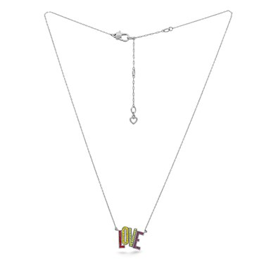 Kate Spade New York Rainbow Love Necklace  - Click to view larger image