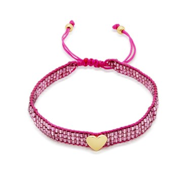 Kate Spade New York Purple Friendship Heart Bracelet 1