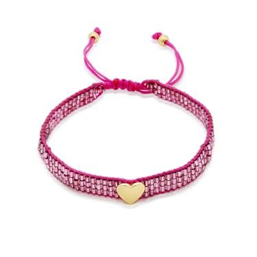 Kate Spade New York Purple Friendship Heart Bracelet  - Click to view larger image