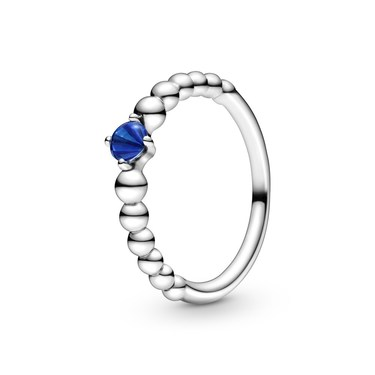 Pandora September Birthstone Beaded Ring  - Click to view larger image