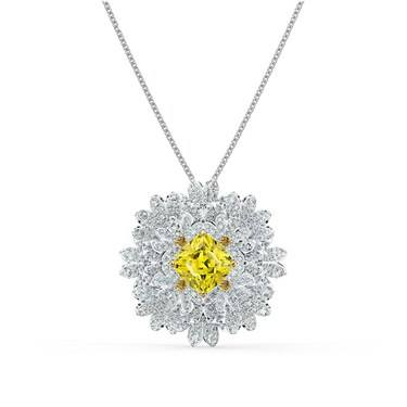 Swarovski Eternal Flower Pendant Necklace  - Click to view larger image