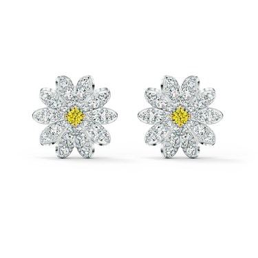 Swarovski Eternal Flower Stud Earrings  - Click to view larger image