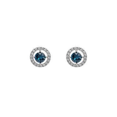 Lily & Rose Miss Miranda Blue Earrings  - Click to view larger image