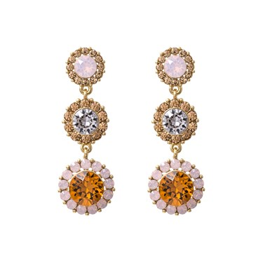 Lily & Rose Sienna Rose & Topaz Earrings   - Click to view larger image