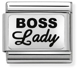 Nomination Boss Lady Charm   - Click to view larger image