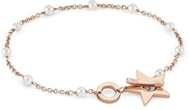 Nomination Rose Gold Mon Amour Pearl Star Bracelet   - Click to view larger image