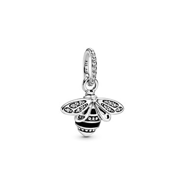 Pandora Sparkling Queen Bee Pendant  - Click to view larger image