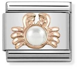 Nomination Rose Gold Crab Charm   - Click to view larger image