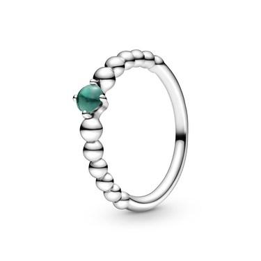 Pandora May Birthstone Beaded Ring  - Click to view larger image