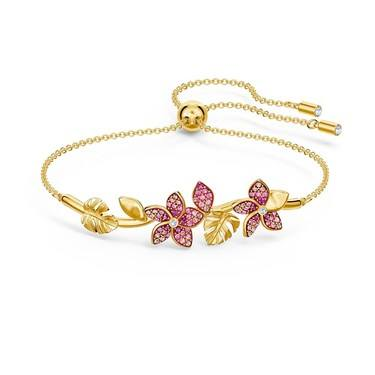 Swarovski Tropical Flower Bracelet   - Click to view larger image
