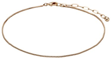 Pilgrim Rose Gold Pallas Anklet  - Click to view larger image