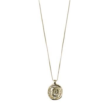 Pilgrim Gold LA Stud Necklace  - Click to view larger image