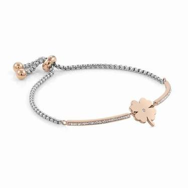 Nomination Rose Gold Milleluci Clover Bracelet   - Click to view larger image
