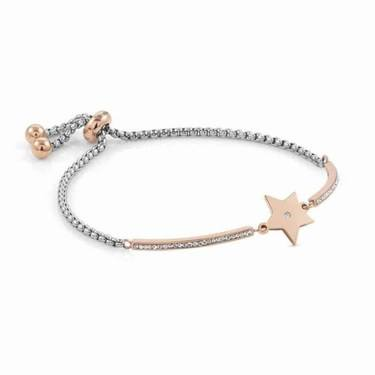 Nomination Rose Gold Milleluci Star Bracelet   - Click to view larger image