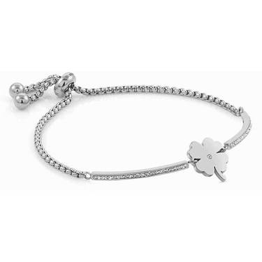 Nomination Silver Milleluci Clover Bracelet   - Click to view larger image