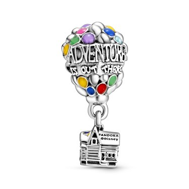 Pandora Disney Up House & Balloons Charm  - Click to view larger image