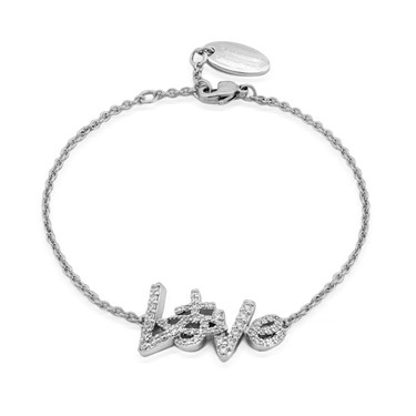 Vivienne Westwood Wilma Love Bracelet  - Click to view larger image