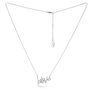 Vivienne Westwood Wilma Love Necklace  - Click to view larger image