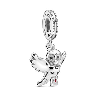 Pandora Harry Potter Hedwig Charm  - Click to view larger image